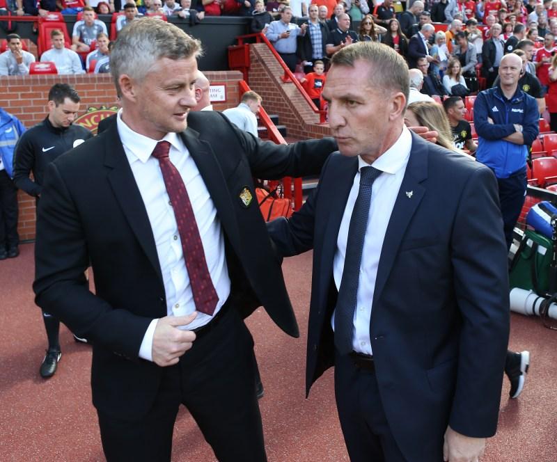 Ole Gunnar Solskjaer and Brendan Rodgers meet this weekend in a key Premier League clash