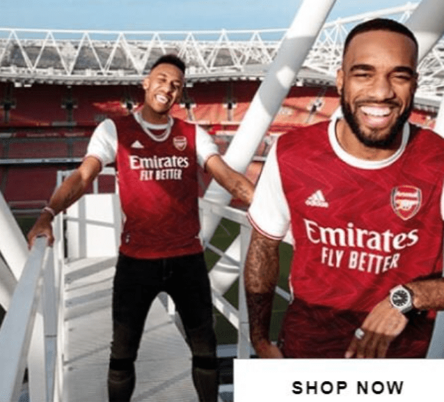 Star striker Aubamayeng will participate in the promotion of the new Arsenal kit