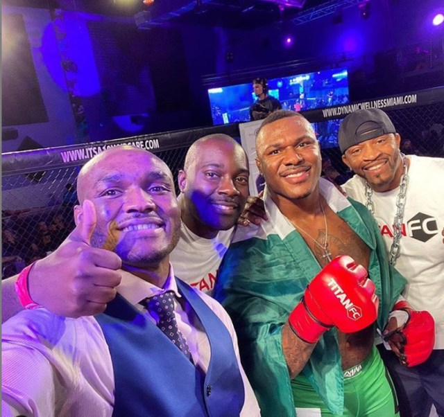 The Nigerian-born brothers want to take over MMA together