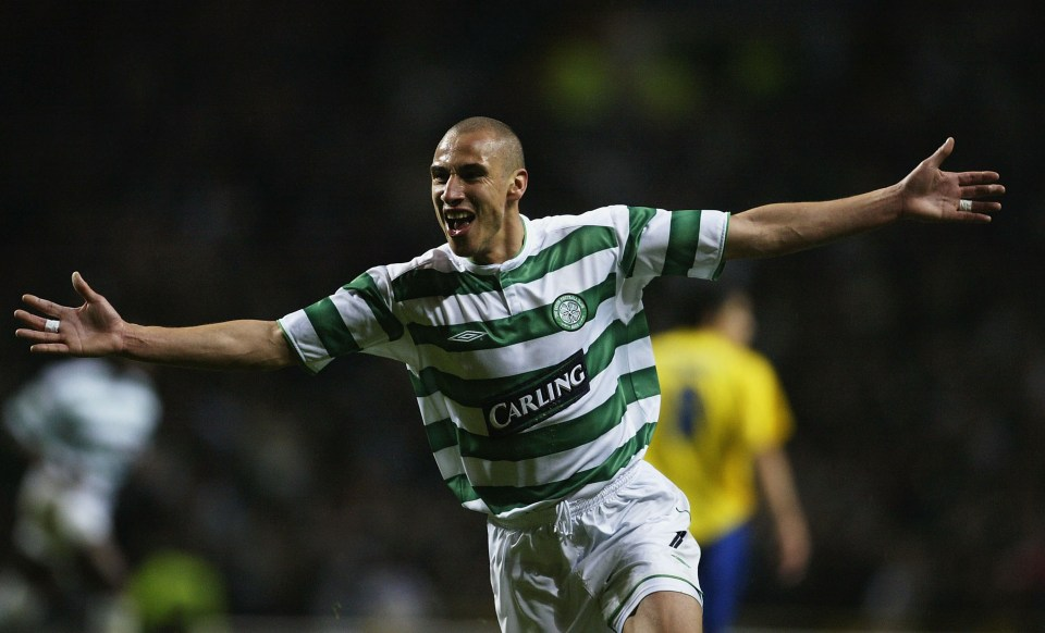 Larsson is a certified Celtic legend