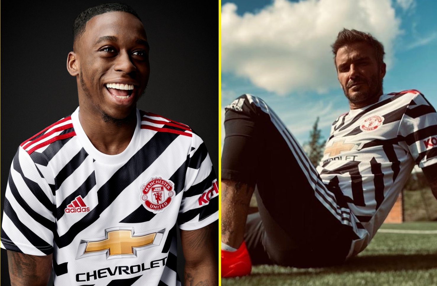 Manchester United officially unveil 'Zebra' third kit which has been widely criticised by Red Devils fans thumbnail