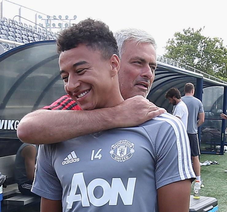 Lingard and Jose Mourinho could well be set for a reunion at Tottenham