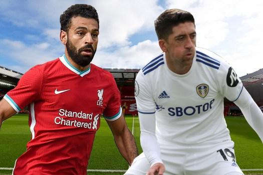 Liverpool v Leeds LIVE commentary: Salah hat-trick gives ...