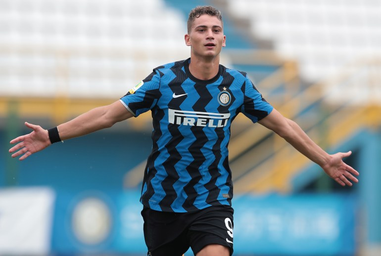 Esposito is on loan in the second division of Italy right now