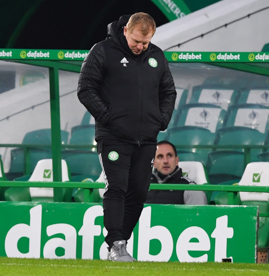 Lennon appears to be on the verge of Celtic after his team's latest disastrous result