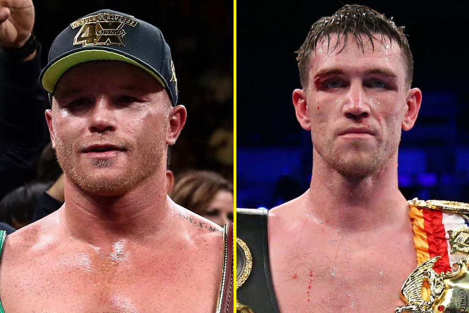Canelo's next fight will be against Callum Smith for WBA super middleweight title