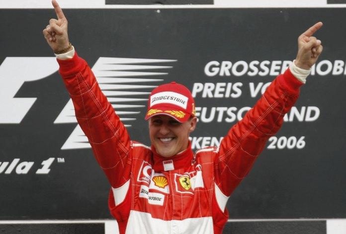 Schumacher é um dos maiores pilotos de todos os tempos na F1