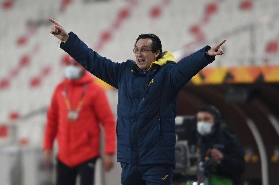 Unai Emery led Villarreal to fourth place in La Liga