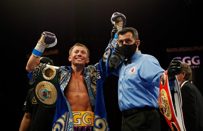 Golovkin, 39, is one of the all-time boxing greats