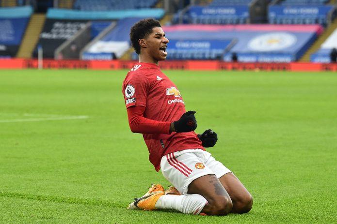 Rashford scored his 50th Premier League goal for Man United