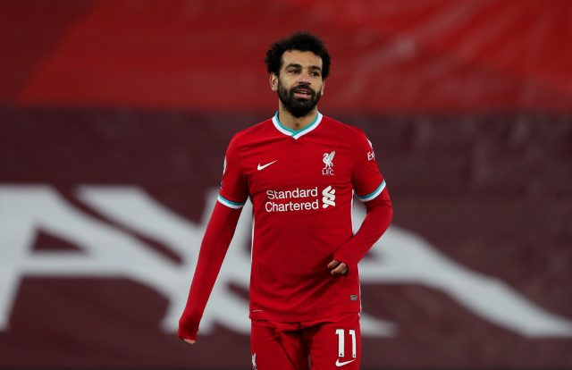 Salah has been Liverpool's main source of goals this season with 22 strikes to his name
