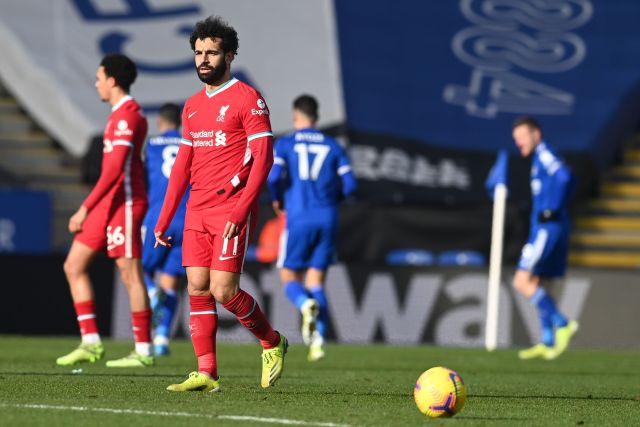 Mohamed Salah gave Liverpool the lead midway through the second half but Liverpool threw the game away