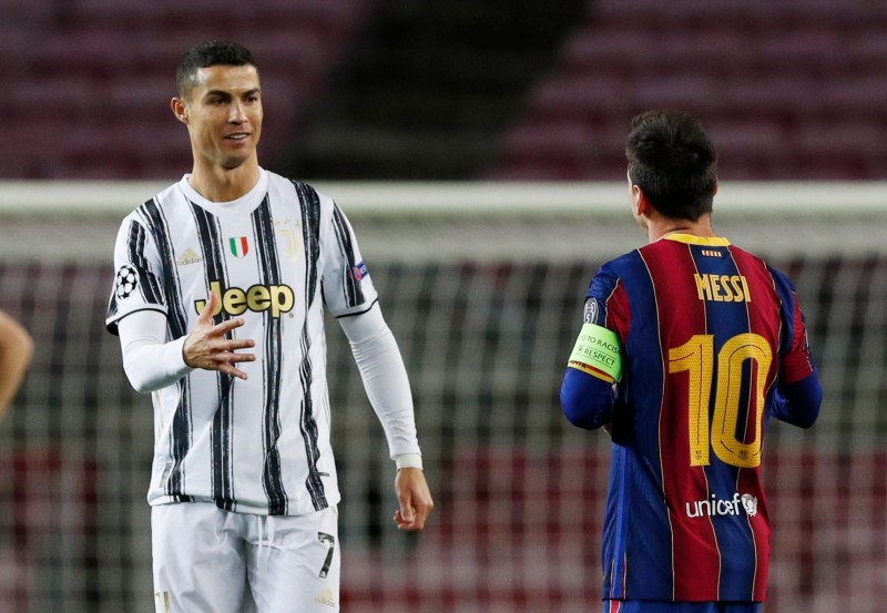 If they compare you with players like Ronaldo and Messi, you are doing something right