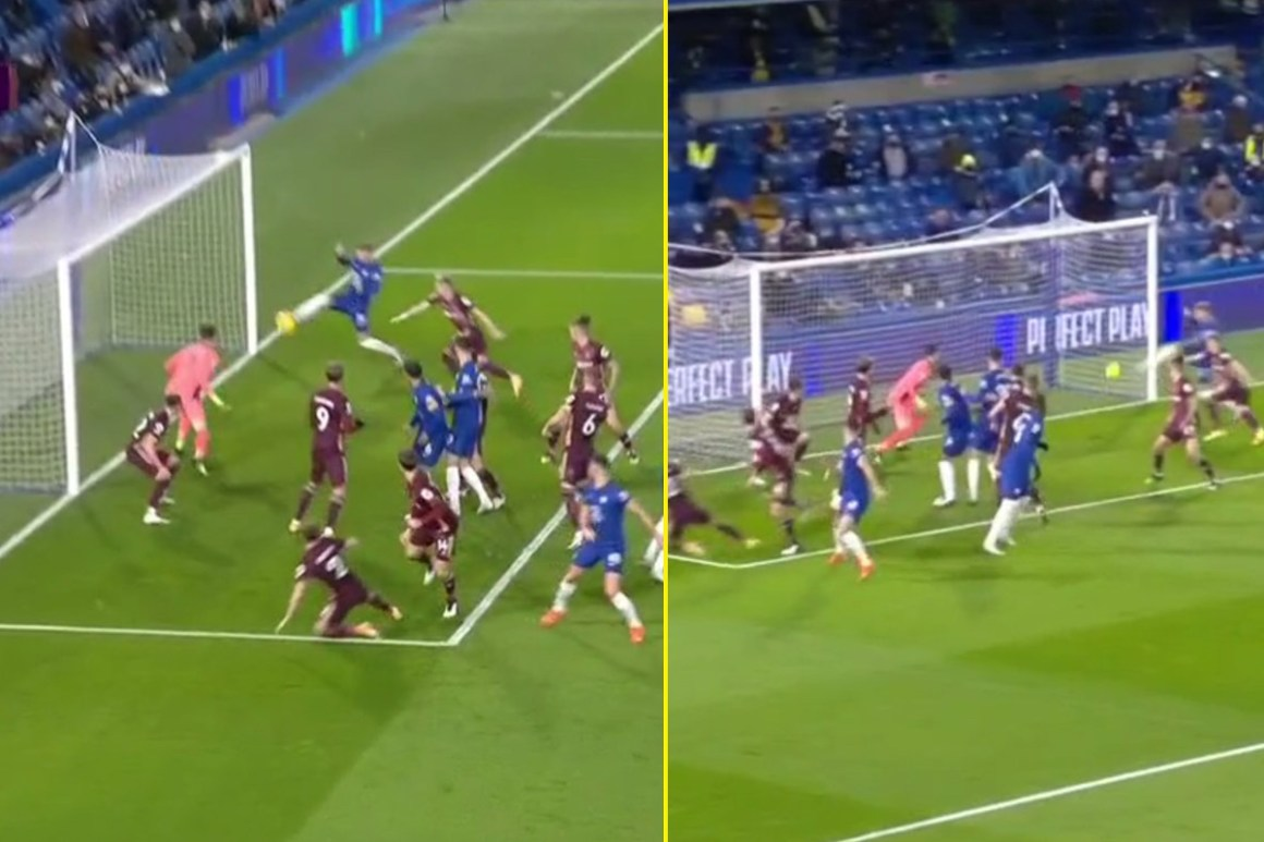 Watch as Timo Werner produces remarkable open goal miss from one yard out and ends up hitting the crossbar for Chelsea against Leeds