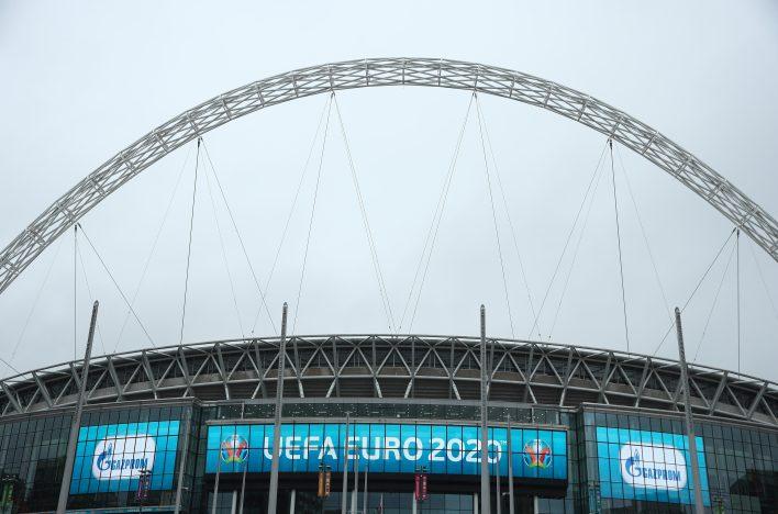 Wembley şu anda grup aşamaları için yüzde 25 kapasiteyle çalışıyor