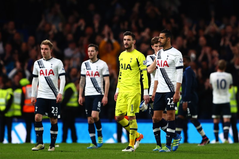 Spurs players were in shock as they forfeited the league title
