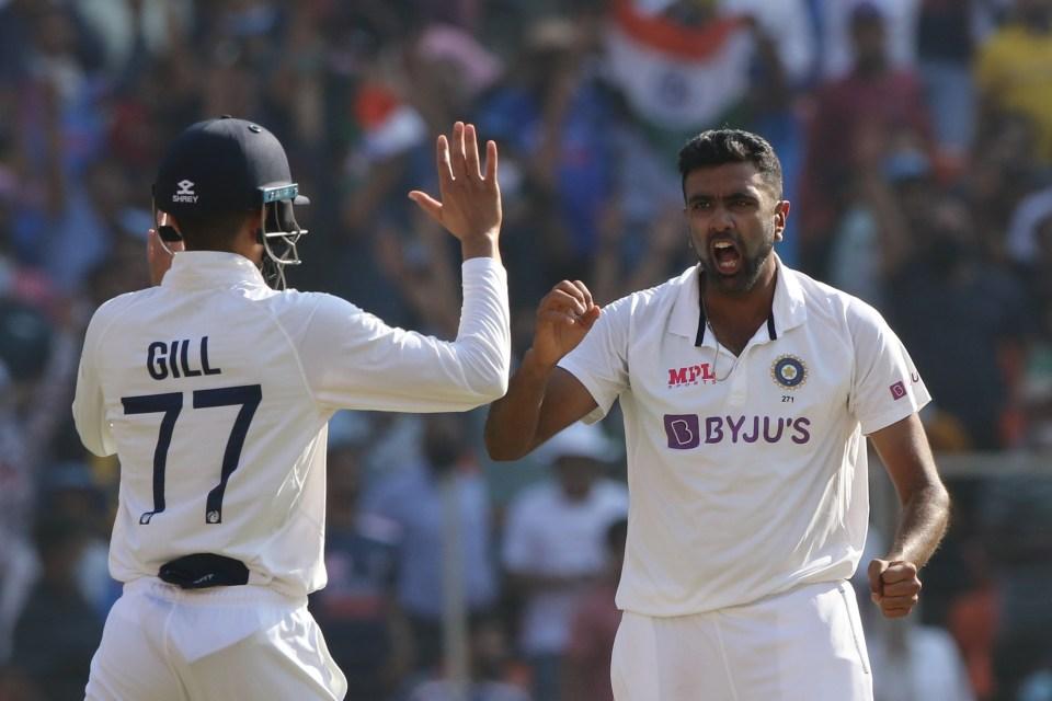 Ravi Ashwin gave England hitters trouble again