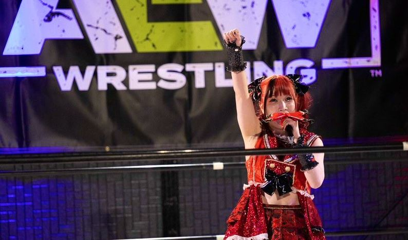 Maki Itoh won over many fans in the tournament