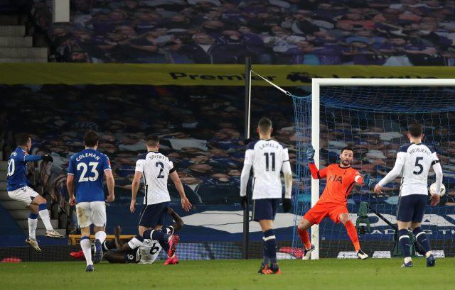 Bernard scores Everton's winner