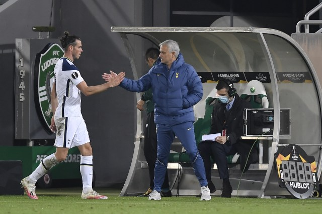 Tension seems to be brewing between Bale and Mourinho