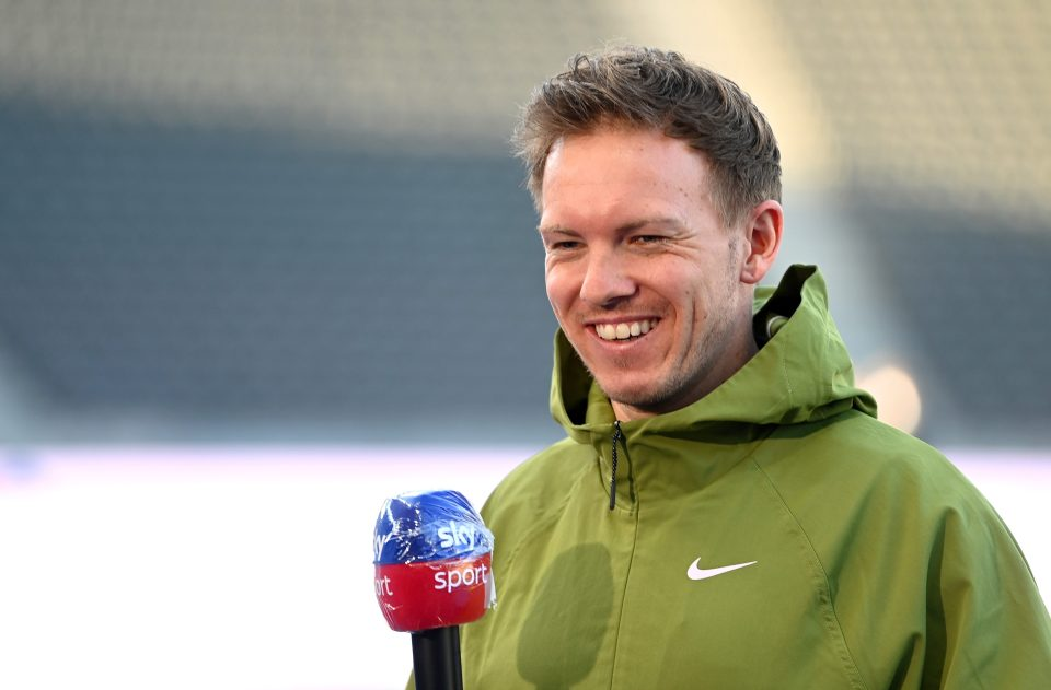 Nagelsmann is said to be a target for Tottenham