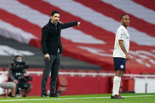 Arteta's side had no joy as they were beaten by Man City last weekend