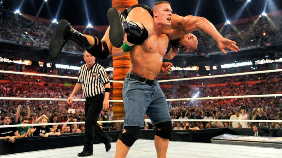 Cena and The Rock wrestled for over 30 minutes at WrestleMania 28