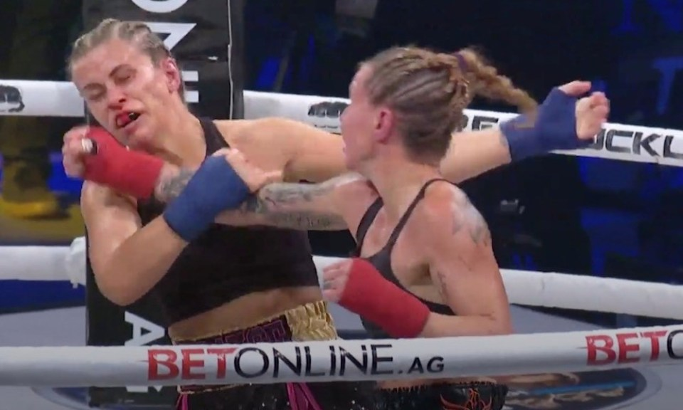 The former women's flyweight contender lost her Bare Knuckle Fighting Championship debut