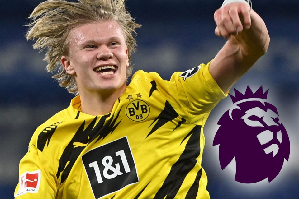 Haaland is one of the hottest properties in world football
