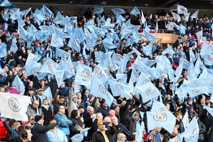 Bazı Man City hayranlarına Wembley'de takımlarını izleme şansı verilecek.