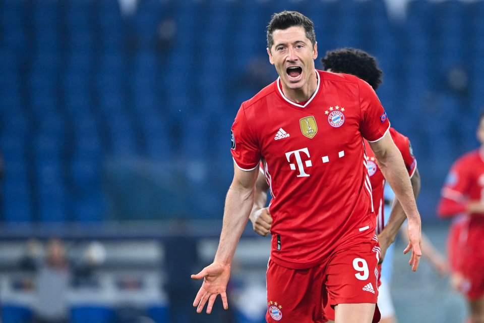 Lewandowski is one of the world's most deadliest strikers