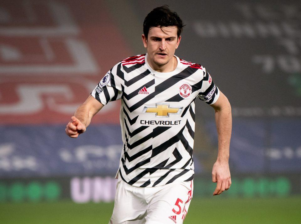 Harry Maguire was heard screaming at his teammate Rashford