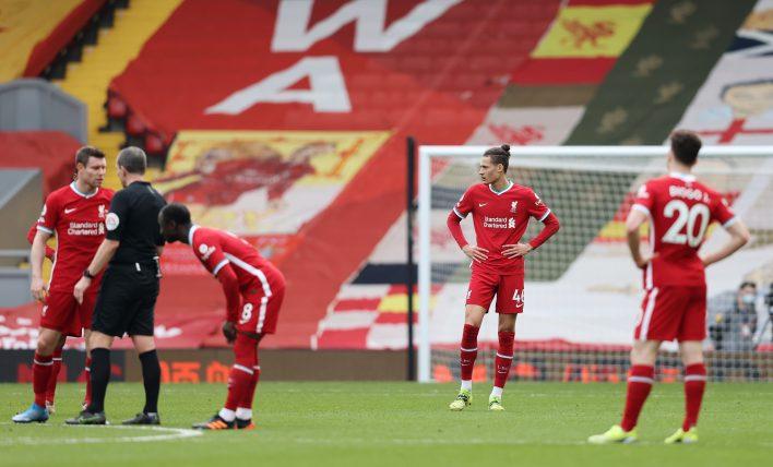 2020/21 sezonu Liverpool için birçok nedenden dolayı zordu