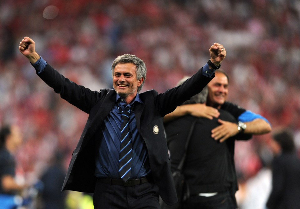 Mourinho won the treble the last time he was in Italy
