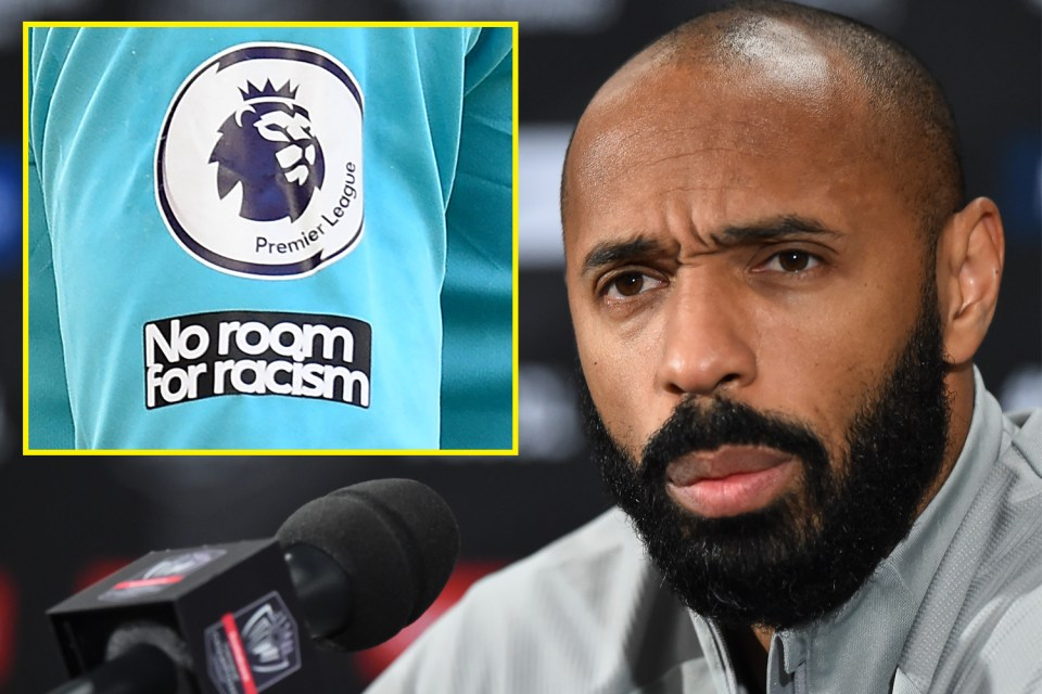 Arsenal legend Thierry Henry withdrew from all social media in March over racism and bullying across all platforms