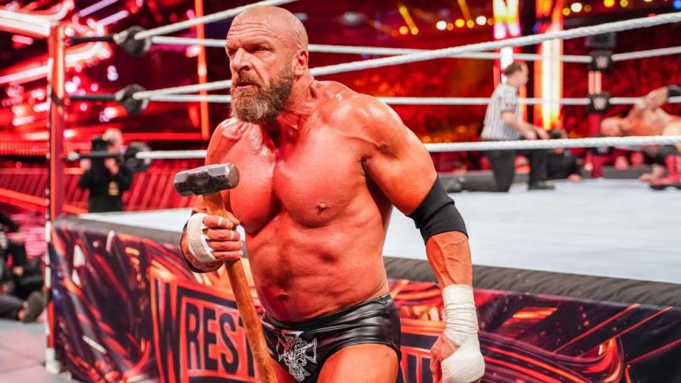 Triple H rarely wrestles these days, but a match with CM Punk would be fine with WWE fans