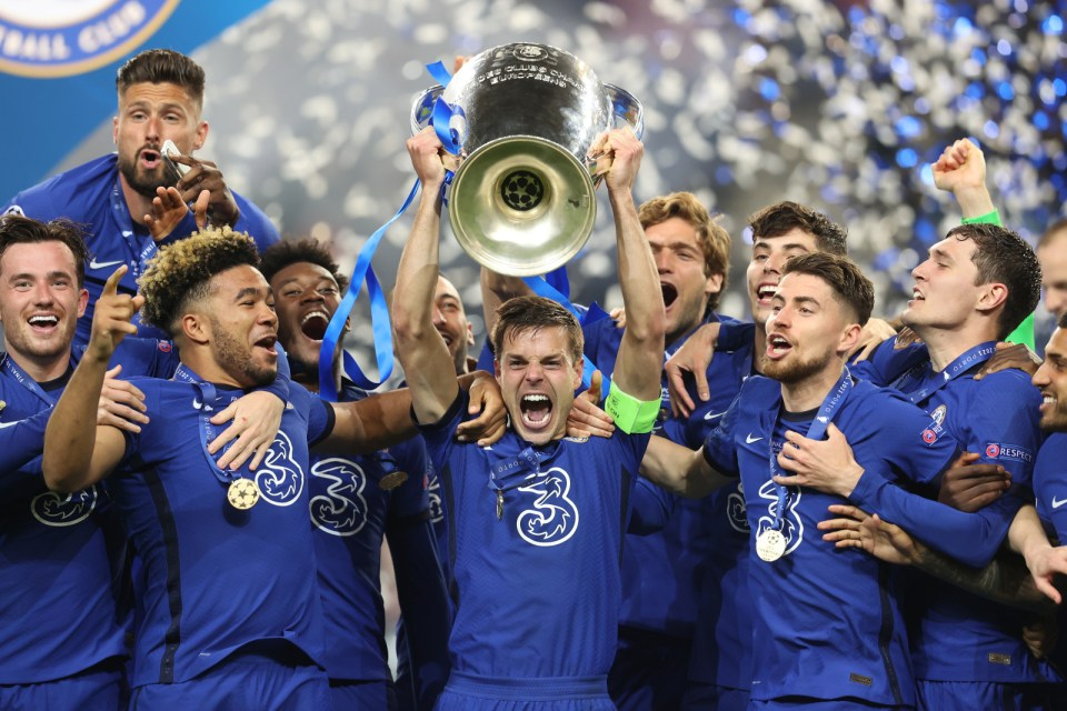 Chelsea are in the tournament due to their Champions League success last season