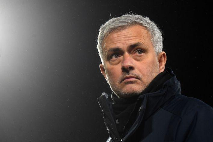 Mourinho, Nisan ayında Spurs tarafından baltalandı