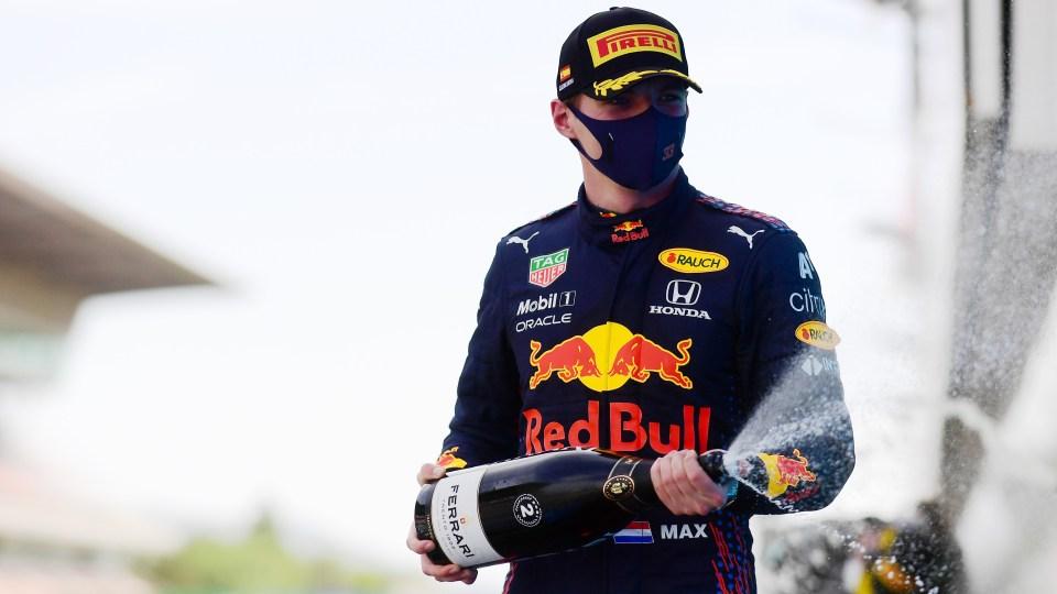 Verstappen missed the win