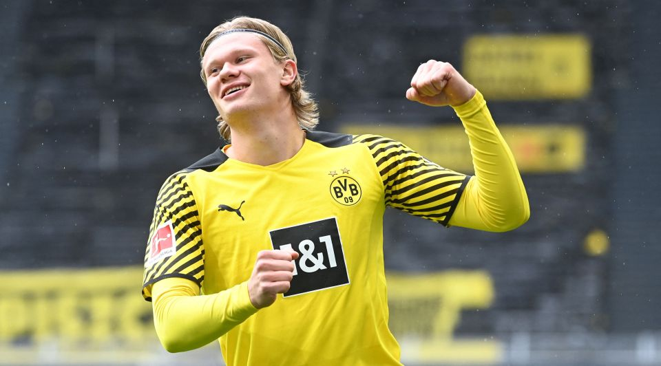 Haaland is considered one of the best young forwards in the world and is still only 20 years old