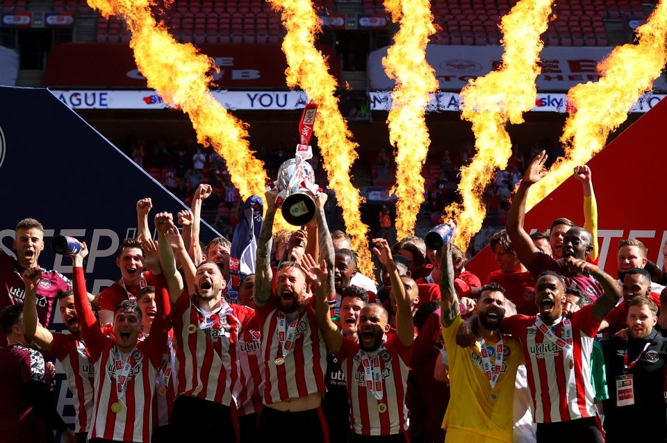 Brentfords beat Swansea with superb play-off final performance