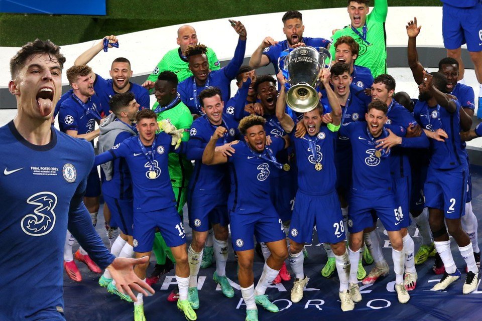 Chelsea beat Man City 1-0 in the Champions League final.  Can they beat them for the title this season?