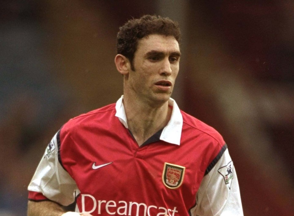 Keown also made 43 appearances for England