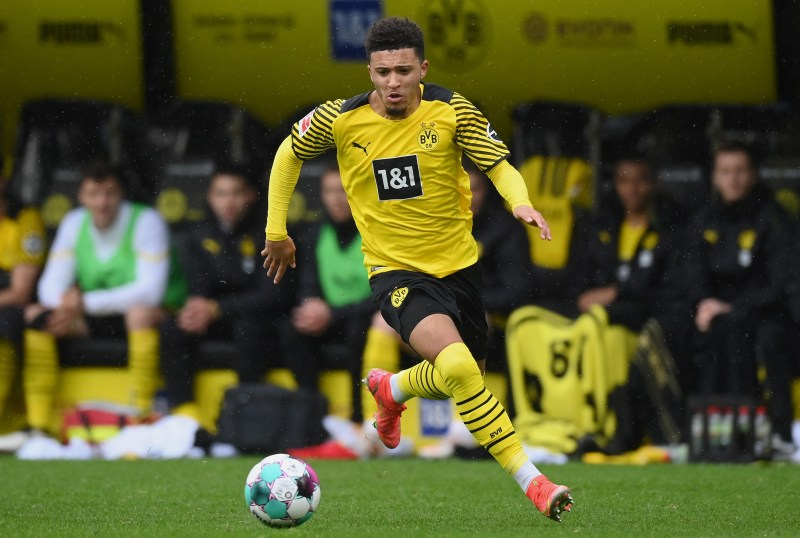 Sancho left United's rivals Manchester City four years ago to join Dortmund which has proved to be an inspired decision