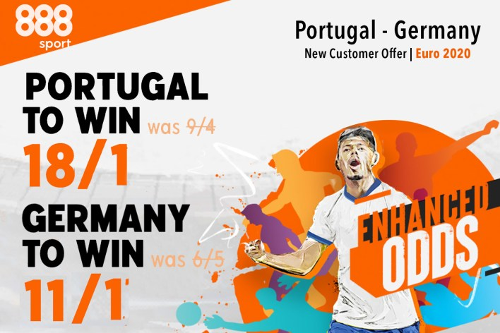 888 Sport özel: 18/1'de Portekiz'i veya 11/1'de Almanya'yı alın