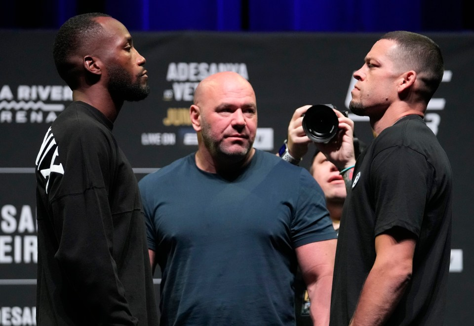 Leon Edwards or Nate Diaz could fight for title next