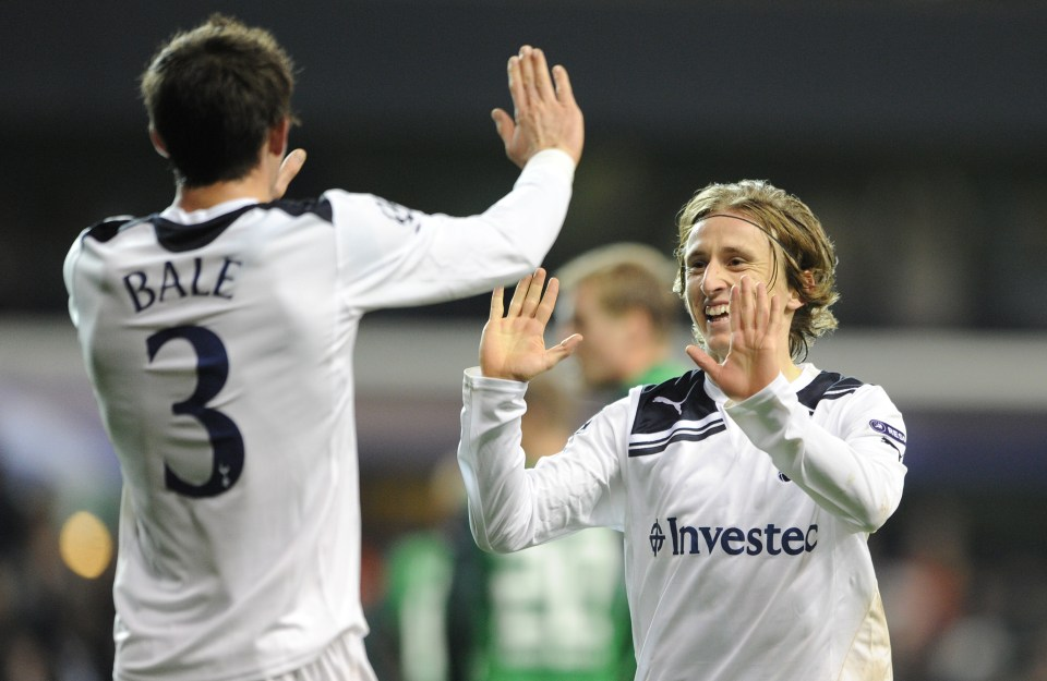 They first starred together at Tottenham