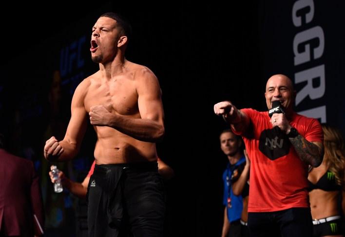 UFC yorumcusu Rogan, Diaz'ın büyük bir hayranı