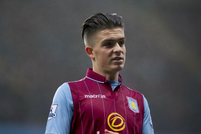 Grealish, gençken Aston Villa takımına girdi