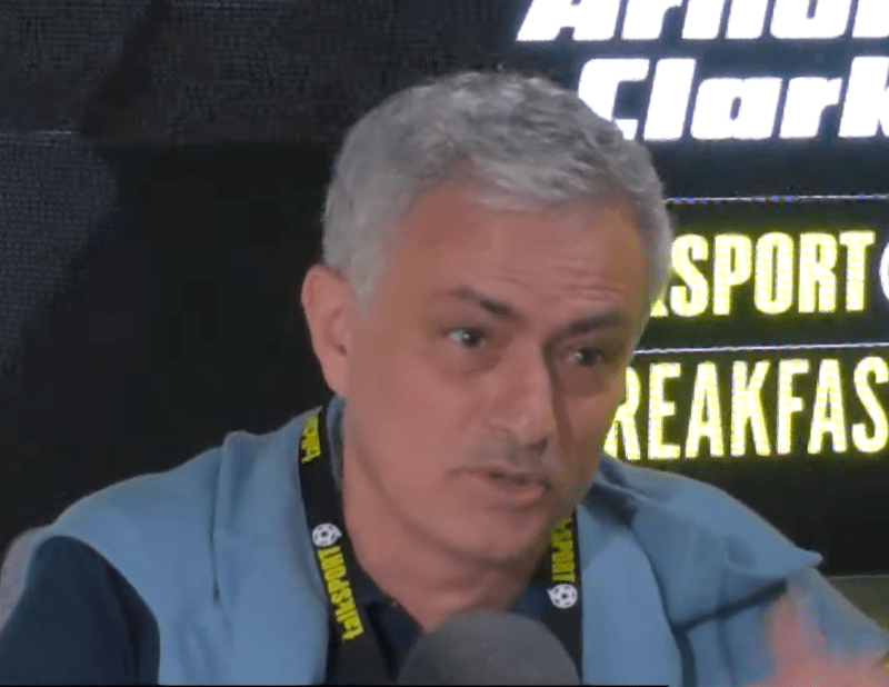 Mourinho joined talkSPORT for an hour on Friday to speak about Euro 2020